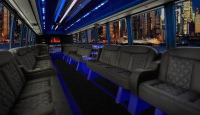 Grech Limo Bus interior