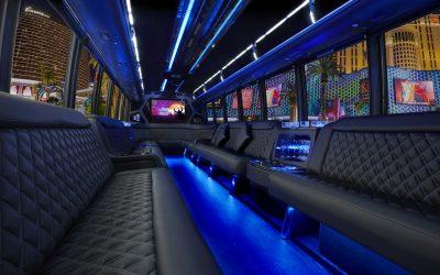 Party Bus 18-24 passengers Interior